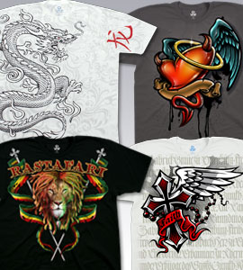 Ethnic T-Shirts, Tees