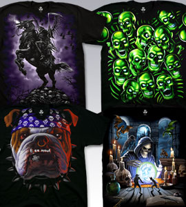 Fantasy T-Shirts, Tees, Tie-Dyes