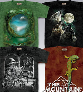 The Mountain T-Shirts, Tie-Dyes, Tank Tops