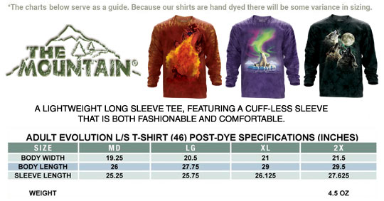MOUNTAIN LONG SLEEVE